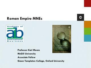 Roman Empire MNEs