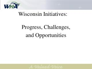 Wisconsin Initiatives:
