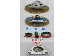 Gear pumps and Gear motors