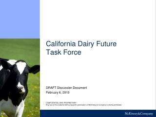 California Dairy Future Task Force