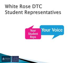 White Rose DTC Student Representatives