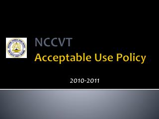 NCCVT Acceptable Use Policy