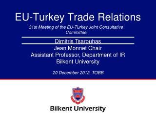 EU-Turkey Trade Relations