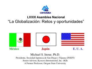 """LXXXI Asamblea Nacional """"La Globalización: Retos y oportunidades"""""""