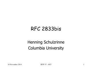 RFC 2833bis