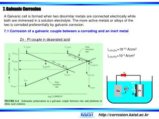 7. Galvanic Corrosion