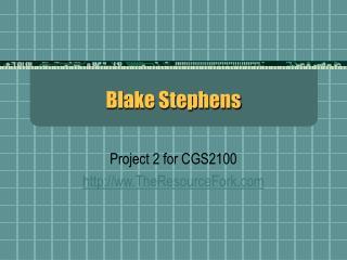 Blake Stephens