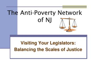 The Anti-Poverty Network of NJ
