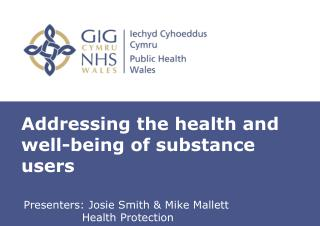 Addressing the health and well-being of substance users