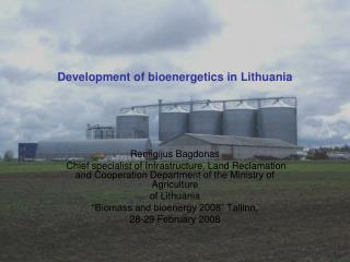 Development of bioenergetics in Lithuania
