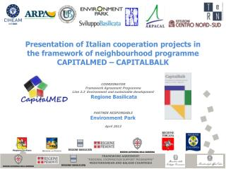 "FRAMEWORK AGREEMENT  ""REGIONAL COOPERATION SUPPORT PROGRAMME"" MEDITERRANEAN AND BALKAN COUNTRIES"