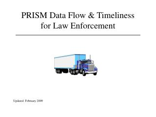 PRISM Data Flow & Timeliness for Law Enforcement