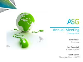 Annual Meeting October  2014