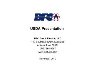 USDA Presentation
