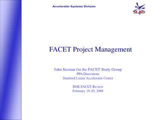 FACET Project Management