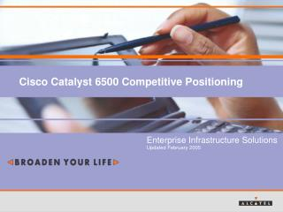 Cisco Catalyst 6500 Competitive Positioning