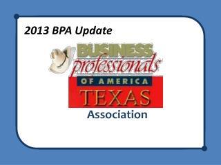 2013 BPA Update