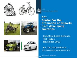CBI Centre For the Promotion of Imports from developing countries
