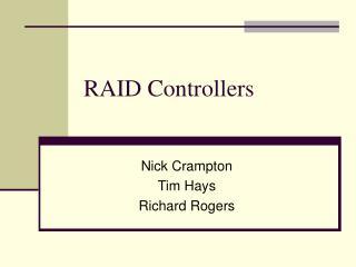 RAID Controllers