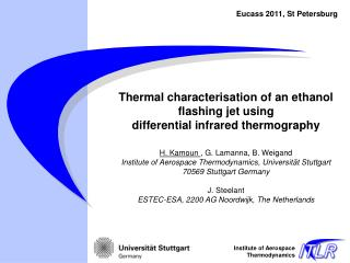 Thermal  characterisation  of an ethanol flashing jet using differential  infrared thermography