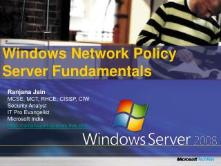 Windows Network Policy Server Fundamentals