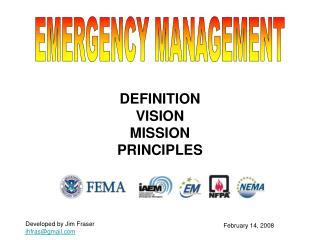 DEFINITION VISION MISSION PRINCIPLES
