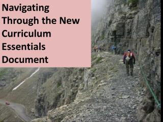 Navigating Through the New Curriculum Essentials Document