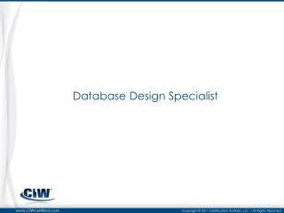Database Design Specialist
