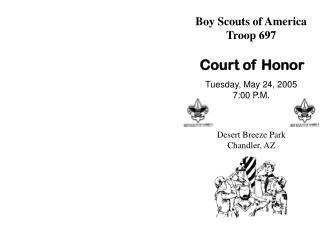 Boy Scouts of America Troop 697