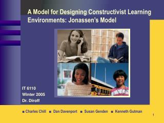A Model for Designing Constructivist Learning Environments: Jonassen's Model