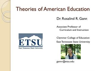 Theories of American Education
