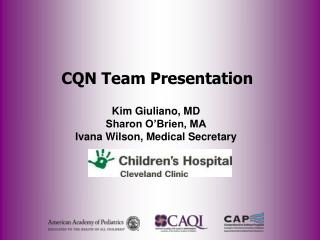 CQN Team Presentation