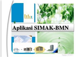 Aplikasi  SIMAK-BMN