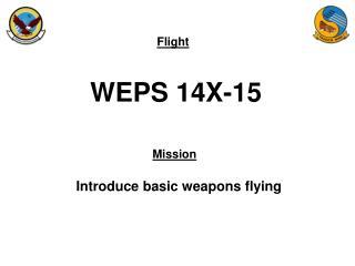 WEPS 14X-15