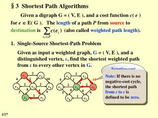 §3  Shortest Path Algorithms
