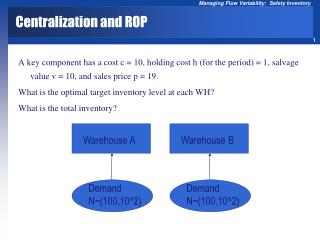 Centralization and ROP