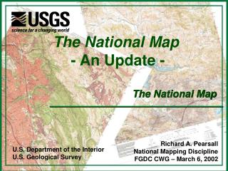 The National Map - An Update -