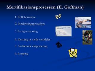 Mortifikasjonsprosessen (E. Goffman)