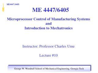 ME 4447/6405