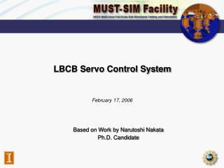 LBCB Servo Control System