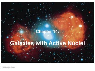 Galaxies with Active Nuclei