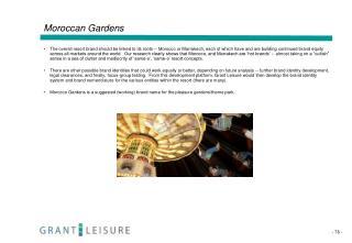 Moroccan Gardens