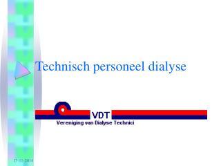 Technisch personeel dialyse