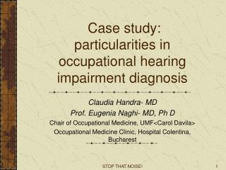 """case study for hearing impaired child Students with hearing difficulties  web site """"deafness means a hearing impairment which is so severe that the child is impaired in  deaf studies guides."""