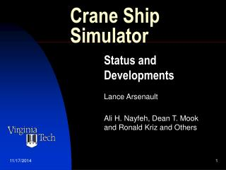 Crane Ship Simulator