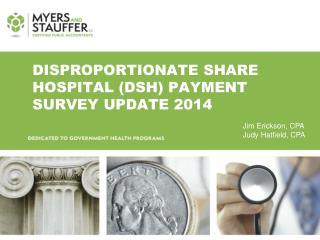 Disproportionate share hospital (DSH) Payment survey  UPdate  2014