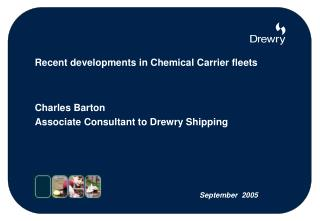 Recent developments in Chemical Carrier fleets
