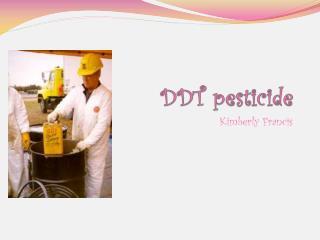 DDT pesticide