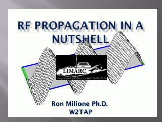 RF Propagation In a Nutshell
