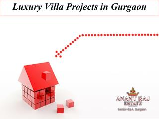 Luxury Villa Projects in Gurgaon